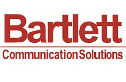 bartlett communication logo, communications solutions